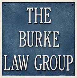 The Burke Law Group Plaque